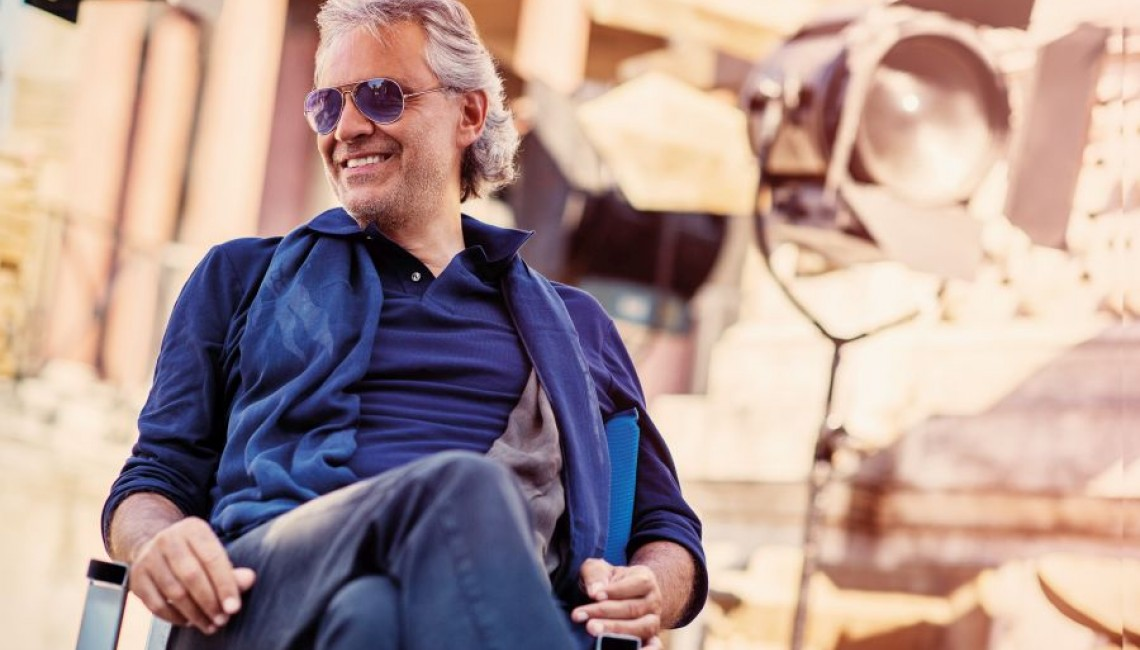 Nowy spot: Andrea Bocelli na PGE Narodowym