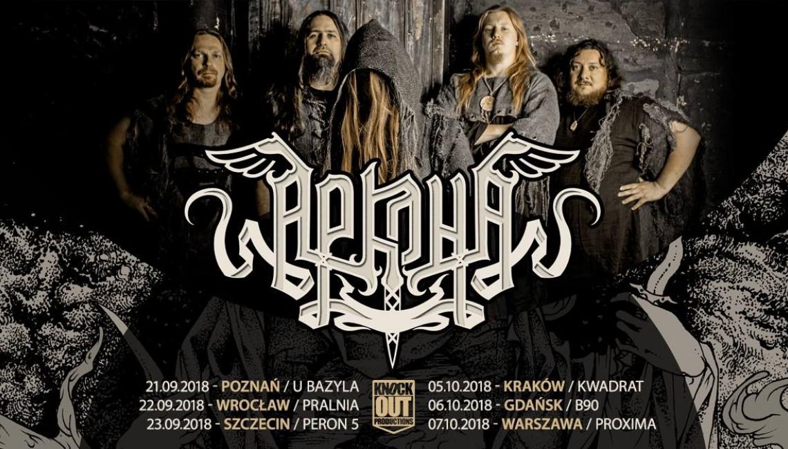Arkona na sześciu koncertach w Polsce!