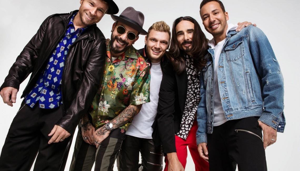 Backstreet Boys na koncercie w Polsce
