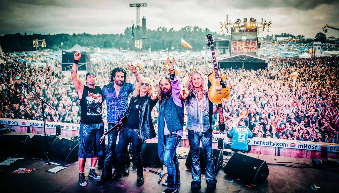 The Dead Daisies supportem Foreigner!