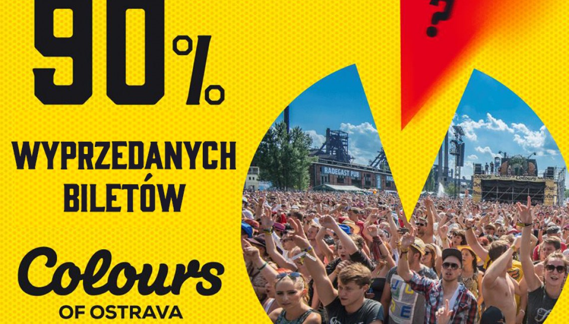 30 dni do Colours of Ostrava!