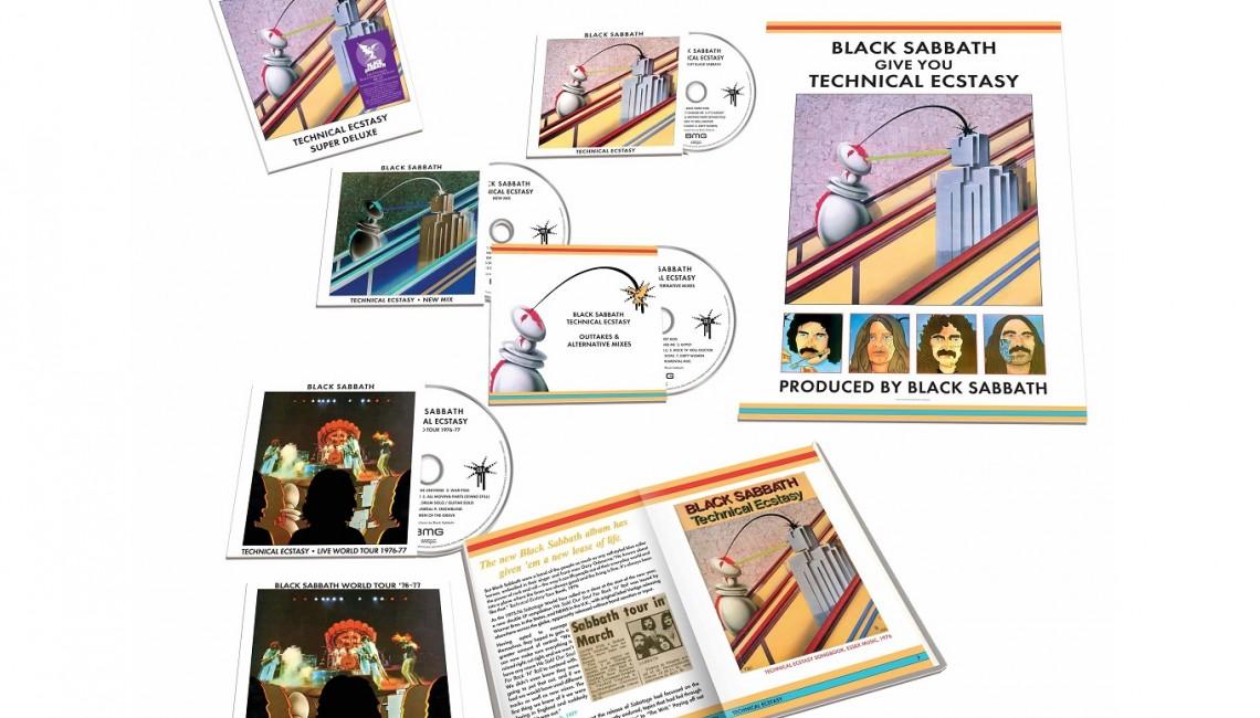 Black Sabbath: Technical Ecstasy. Reedycja albumu w wersji Deluxe Edition