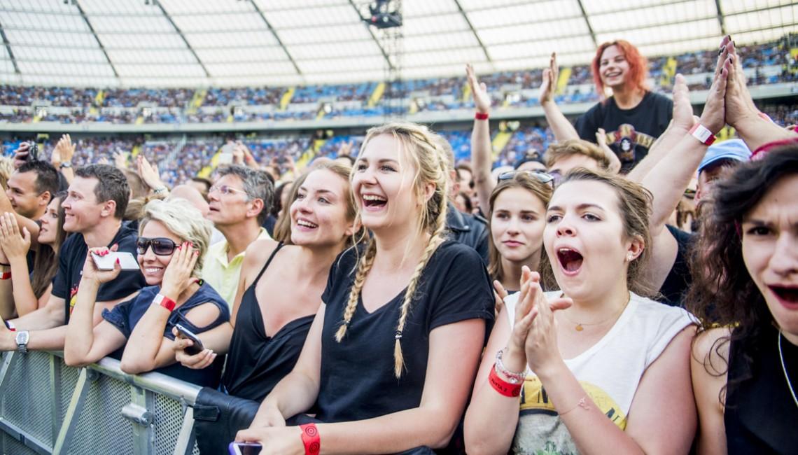 Zdjęcia publiczności: Tak się bawiliście na koncercie Guns N' Roses w Chorzowie!