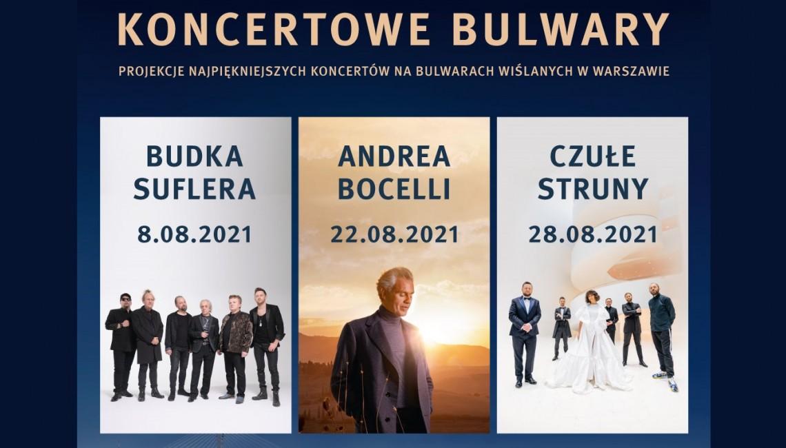 Światowi artyści nad Wisłą, czyli Koncertowe Bulwary!