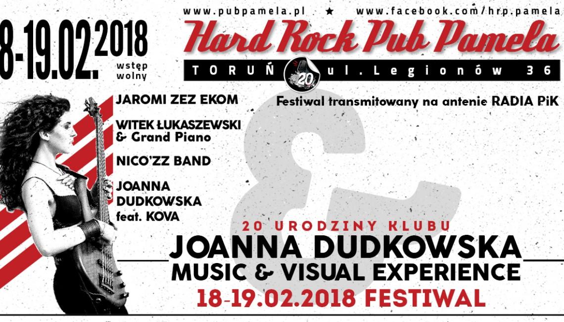 Festiwal: Joanna Dudkowska - Music and Visual Experience