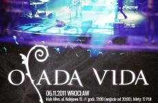 Listopadowe koncerty Osady Vida.
