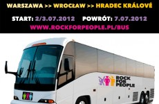 Rock for People – konkurs, wrocławska impreza i Bus for People