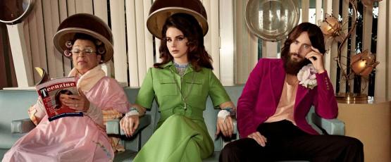 Lana Del Rey, Courtney Love i Jared Leto razem w reklamie!