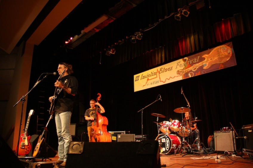 Imielin Blues Festival 2012 - Adam Kulisz Band 17/11/2012